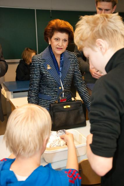 Visit of Androulla Vassiliou, Member of the EC, to Finland