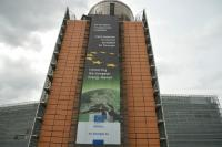 The Berlaymont building with: