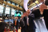 Participation of Karel De Gucht, Member of the EC, at the opening ceremony of the NYSE trading day