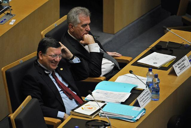 Participation of José Manuel Barroso, President of the EC, in the celebration of the 50th anniversary of the creation of the Organisation of the African Unity