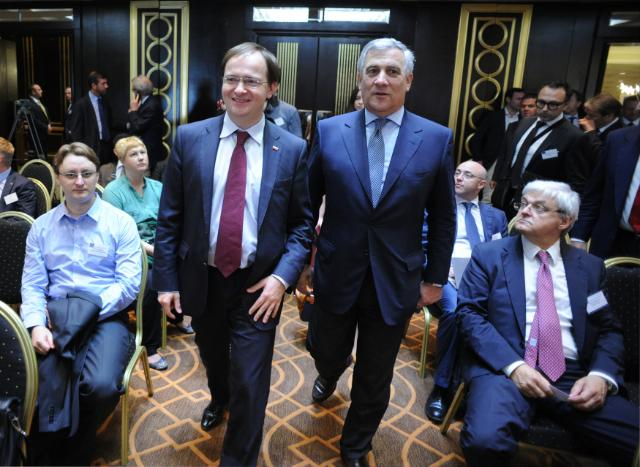 Visit of Antonio Tajani, Vice-President of the EC, to Russia