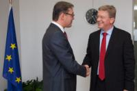 Visit of Igor Corman, Chairman of the Moldovan Parliament, to the EC