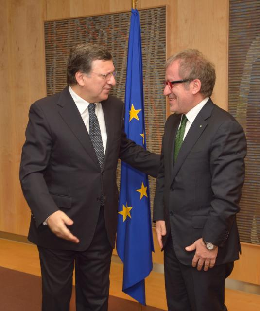 Visit of Roberto Maroni, President of the Lombardy Region, to the EC