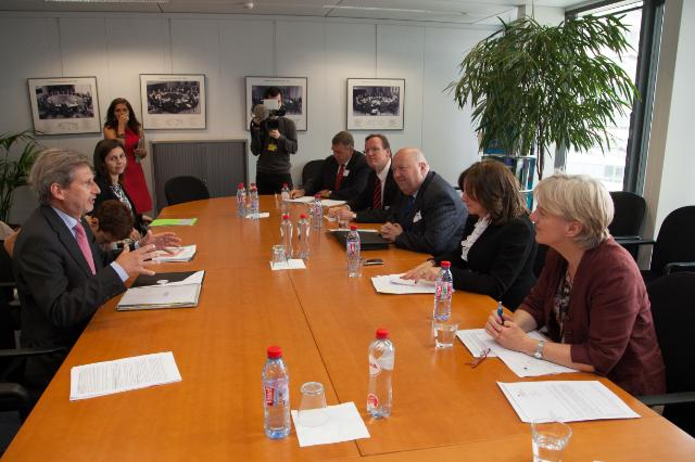 Visit of Linda McAvan and Arlene McCarthy, Members of the EP, to the EC