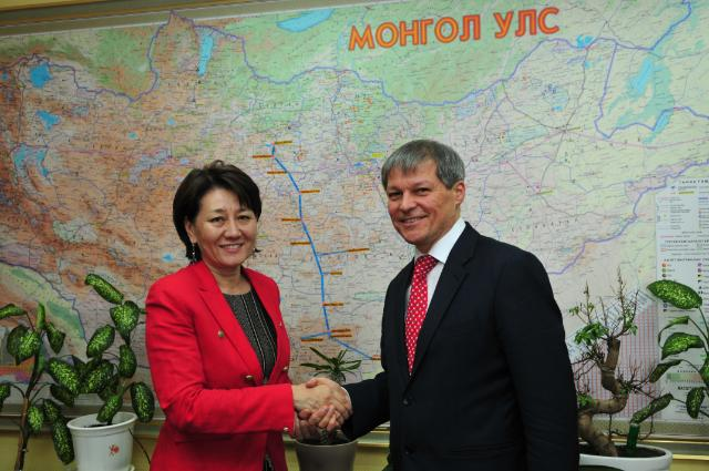 Visit of Dacian Cioloş, Member of the EC, to Mongolia