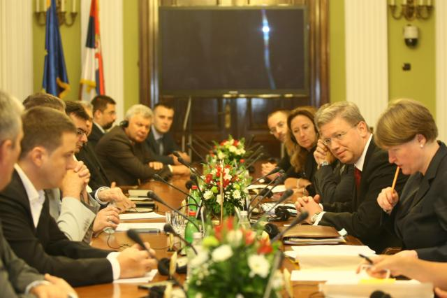 Visit of Štefan Füle, Member of the EC, to Serbia