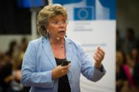 Citizens' Dialogue in Trieste with Viviane Reding