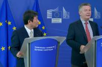 Visit of Toshimitsu Motegi, Japanese Minister for Economy, Trade and Industry, to the EC