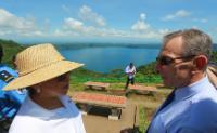 Visite d'Andris Piebalgs, membre de la CE, au Nicaragua