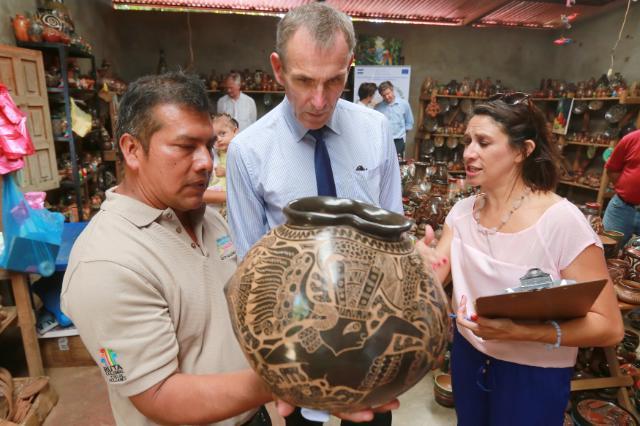 Visit of Andris Piebalgs, Member of the EC, to Nicaragua
