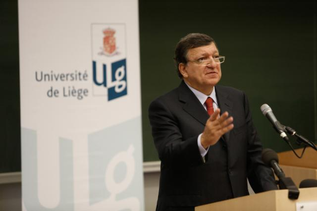 Citizens' Dialogue in Liège with José Manuel Barroso