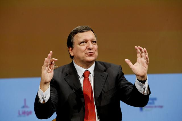 Dialogue avec les citoyens à Liège avec José Manuel Barroso