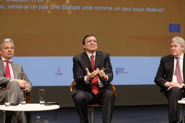 Citizens' Dialogue in Liège with José Manuel Barroso
