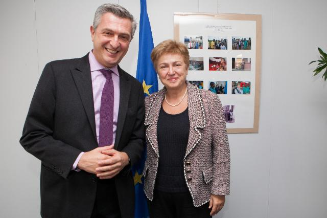 Visit of Filippo Grandi, Commissioner General of the United Nations Relief and Works Agency for Palestine Refugees in the Near East, to the EC