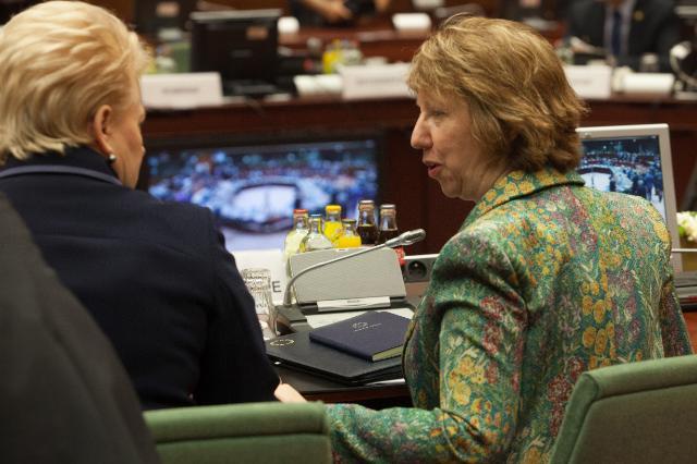 Conseil européen de Bruxelles, 24-25/10/2013