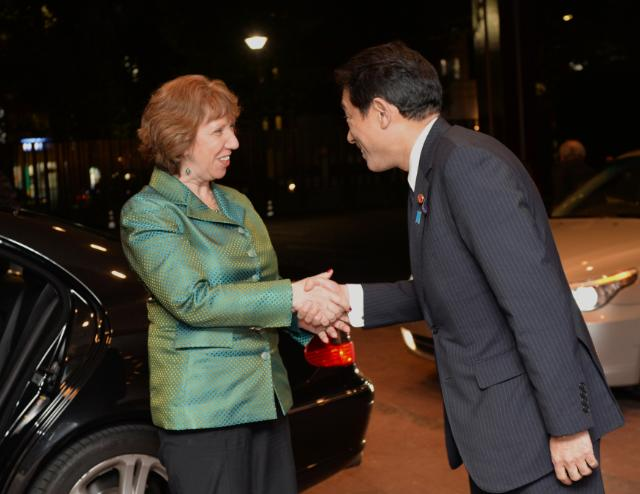 Visit of Catherine Ashton, Vice-President of the EC, to Japan