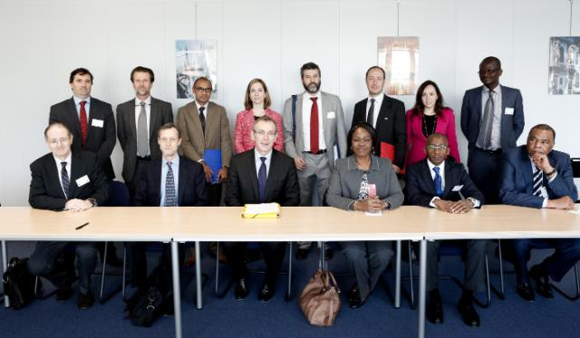 Visit of Nialé Kaba, Ivorian Minister Delegate for Economy and Finance, to the EC