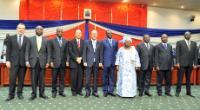 Visit of Andris Piebalgs, Member of the EC, to Burkina