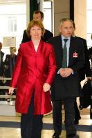Participation de Catherine Ashton, vice-présidente de la CE, aux discussions E3/UE+3 sur le nucléraire à Genève
