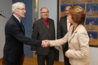 Visit of the representatives of the German National Society for Traditional Costumes to the EC