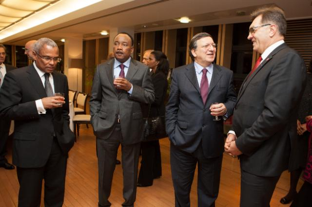 Dinner offered by José Manuel Barroso, President of the EC, on the occasion of the EU Development Days 2013