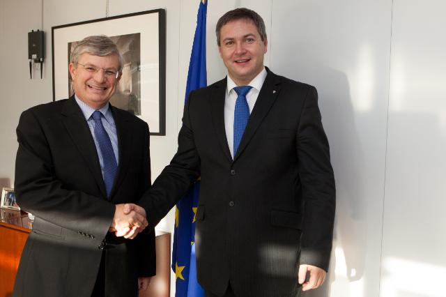 Visit of Dejan Židan, Slovenian Deputy Prime Minister; Minister for Agriculture and the Environment, to the EC