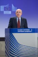 Press conference by Joaquín Almunia, Vice-President of the EC, on the new rules on risk finance