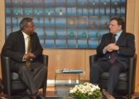Visit of Salil Shetty, Secretary General of Amnesty International, to the EC