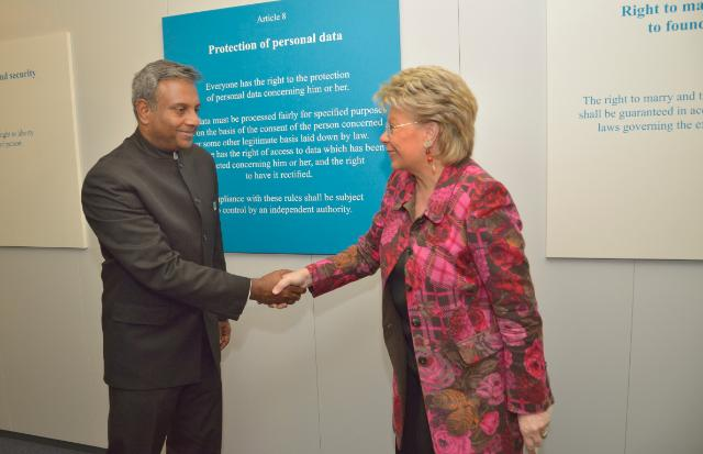Visit of Salil Shetty, Secretary General of Amnesty International, to the EC