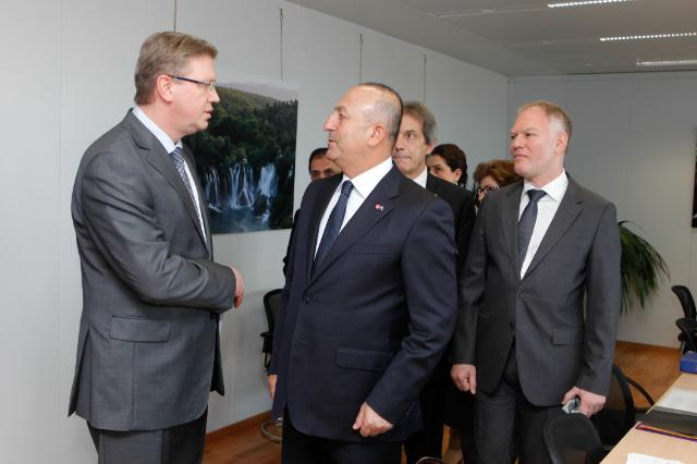 Visit of Mevlüt Çavusoglu, Turkish Minister for EU Affairs and Chief Negotiator for Turkey's accession negotiations with the EU, to the EC