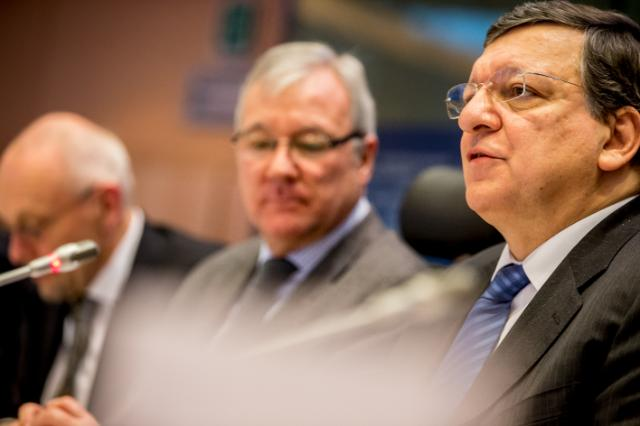Participation of José Manuel Barroso, President of the EC, and Olli Rehn, Vice-President of the EC, in the CoR plenary session