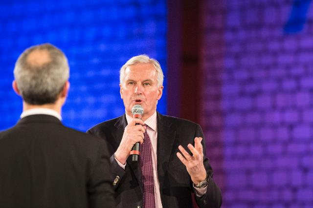 Citizens' Dialogue in Paris with Michel Barnier