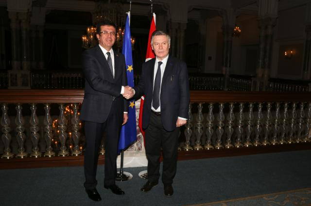 Visit of Karel De Gucht, Member of the EC, to Turkey