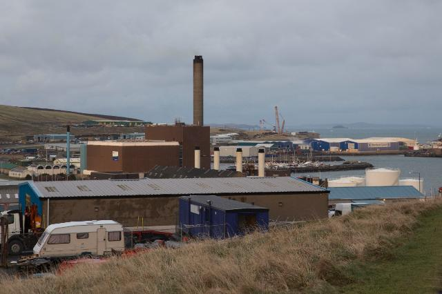 The NINES Project, (Northern Isles New Energy Solutions) in Shetland, Scotland