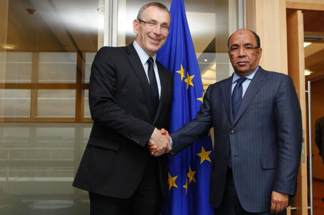 Visit of Ahmed Ould Teguedi, Mauritanian Minister for Foreign Affairs and Cooperation and President of the Executive Council of the AU, to the EC