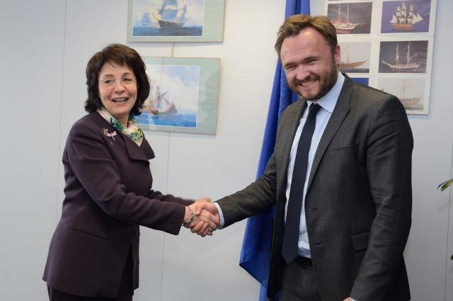 Visit of Dan Jørgensen, Danish Minister for Food, Agriculture and Fisheries, to the EC