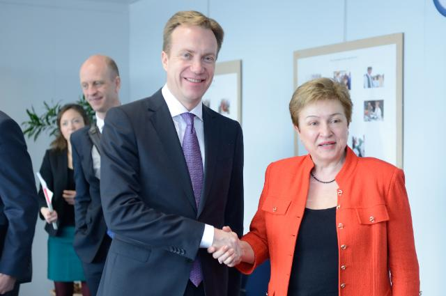 Visit of Børge Brende, Norwegian Minister for Foreign Affairs, to the EC