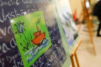 "Illustration of ""Opening of the poster exhibition 'A Chance for the Blue Danube' with the participation of Dacian Cioloş,..."