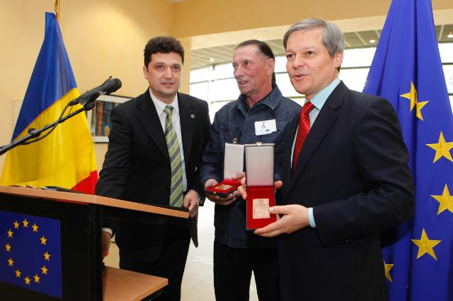Opening of the poster exhibition 'A Chance for the Blue Danube' with the participation of Dacian Cioloş, Member of the EC