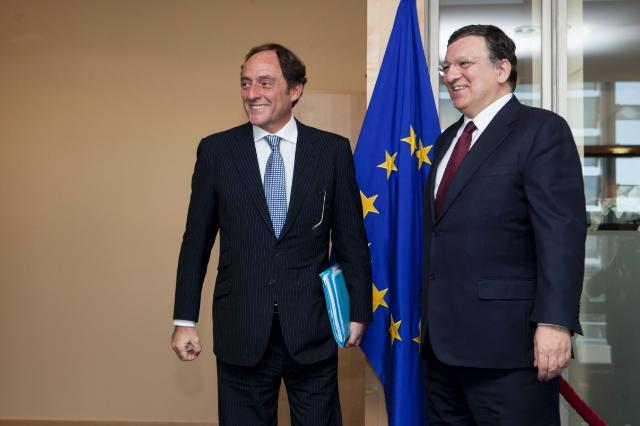 Visit of Paulo Portas, Portuguese Deputy Prime Minister, to the EC