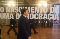 Participation of José Manuel Barroso, President of the EC, in a ceremony celebrating the 40th anniversary of the Portuguese Revolution