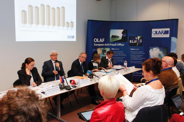 Press conference by Giovanni Kessler, Director-General of OLAF, on the OLAF Report for 2013