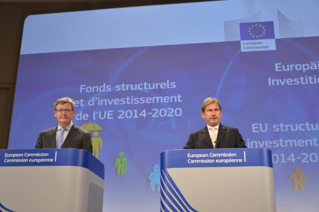 Joint press conference by Johannes Hahn and László Andor, Members of the EC, on the Partnership Agreement for Poland