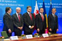 Signing ceremony of the Association Agreements between the EU and Georgia, Moldova and Ukraine