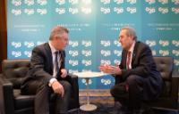 Rencontre entre Michael Froman, représentant américain au Commerce extérieur, et Karel De Gucht, membre de la CE