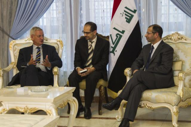 Visit of Kristalina Georgieva, Member of the EC, and Carl Bildt, Swedish Minister for Foreign Affairs, to Iraq