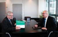 Meeting between Neven Mimica, Member of the EC, and Jean-Claude Juncker, President-elect of the EC