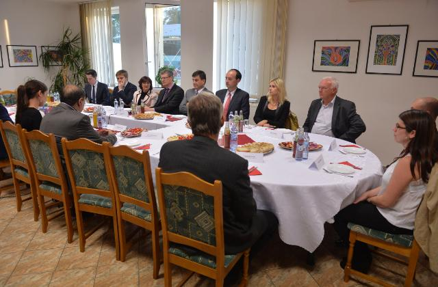 Visit of László Andor, Member of the EC, to Slovakia