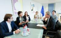 Visit of Renate Brauner, Vice-Mayor and Vice-Governor of Vienna, to the EC