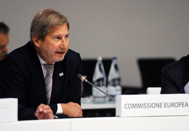 Participation of Johannes Hahn, Member of the EC, at the Informal Council meeting on Cohesion policy and Economic Governance, in Milan